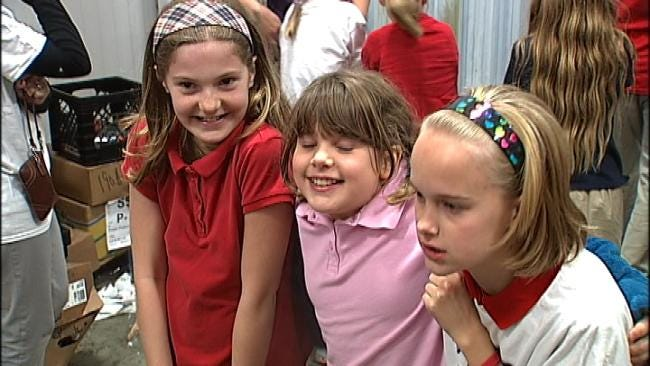 Tulsa Elementary School Students Get Tour Of Community Food Bank