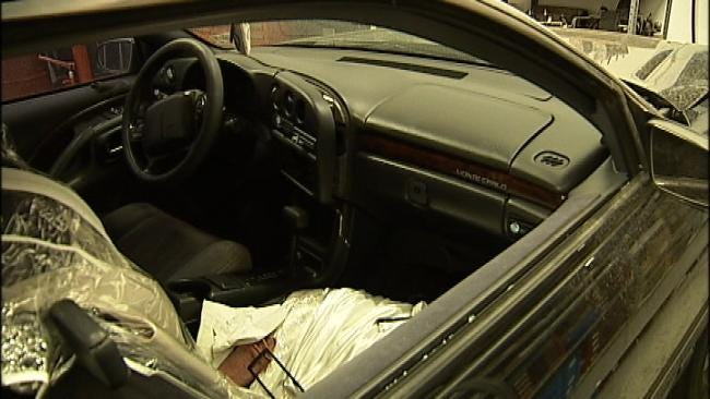 Broken Arrow Business Owner Frustrated At Repeated Car Break-Ins In His Lot