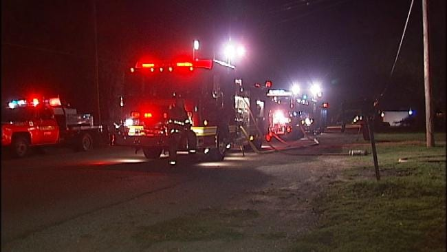 Catoosa Fire: Controlled Burn Damages Home Early Thursday
