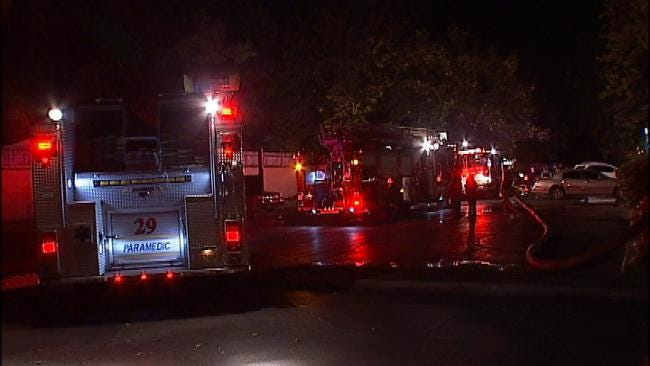 Two Adults, Child Displaced After South Tulsa Apartment Fire