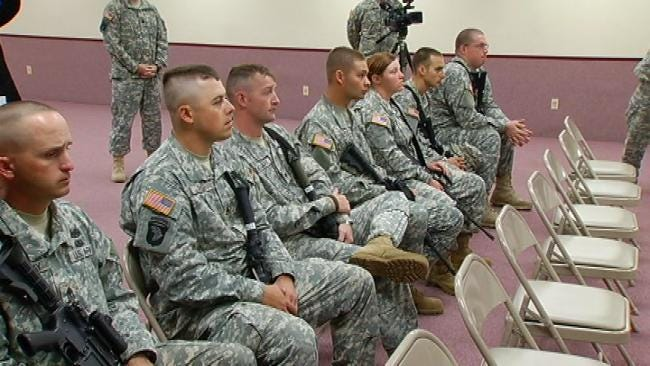 Deployment Ceremony Saturday For National Guard Unit Bound For Afghanistan