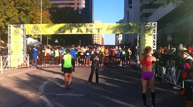 35th Annual Tulsa Run Gets Off To Frosty Start