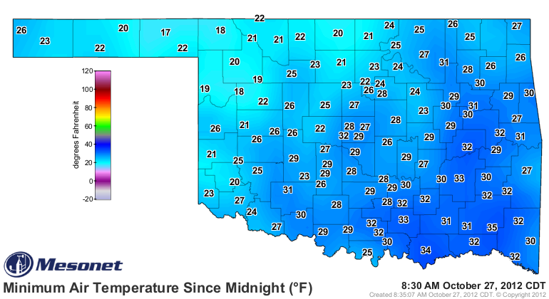 Freeze Again Tonight.