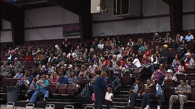 Oklahoma Soldiers Say Goodbye To Family, Friends In McAlester