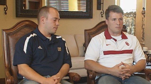 Relatives Of Legendary Notre Dame Coach Are Glenpool HIgh School Grads