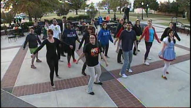 Rogers State Students Get Thrilled For A Cure