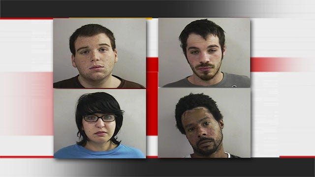 Four Watonga Residents Arrested For Kansas Grocery Store Burglary