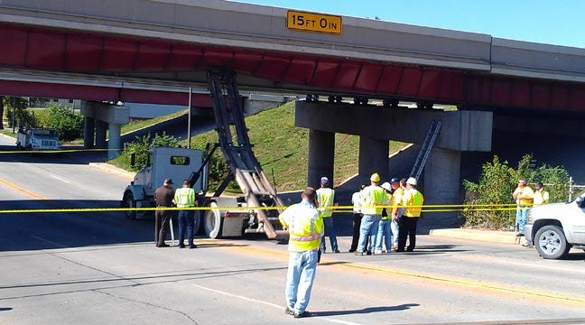 I-244 Bridge Damaged By Truck Re-Opened 20 Days Ahead Of Schedule
