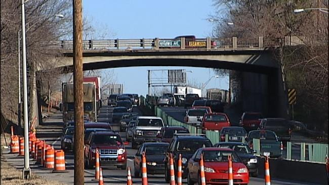 State Leaders, ODOT See Light At End Of The Tunnel Of I-44 Widening Project