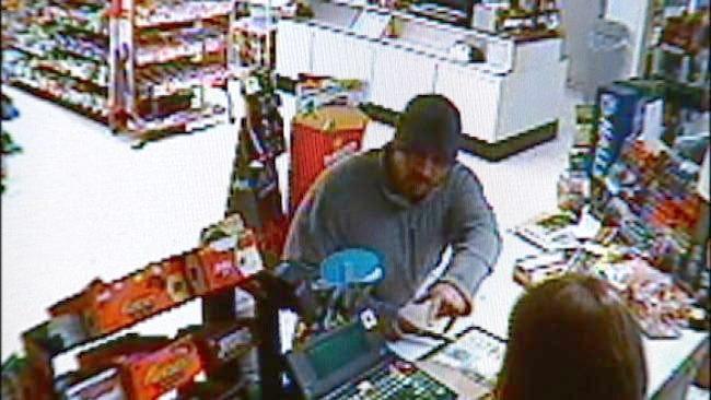 Tulsa Police Release Video Of EZ Mart Robbery Suspect