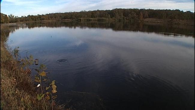 Pretty Water Lake In Sapulpa Stocked With 700 Pounds Of Trout