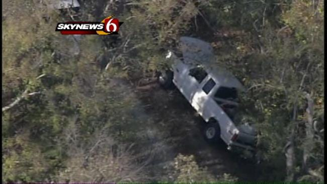 Sapulpa Officer Involved In Collision After Pursuit, School Temporarily Locked Down