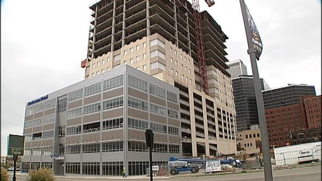 Construction Crews Celebrate Milestone At One Place Tower