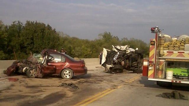 Head-On Collision Kills Three Tulsans In Rogers County