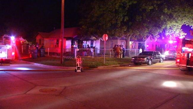 One Hurt In Tulsa House Fire