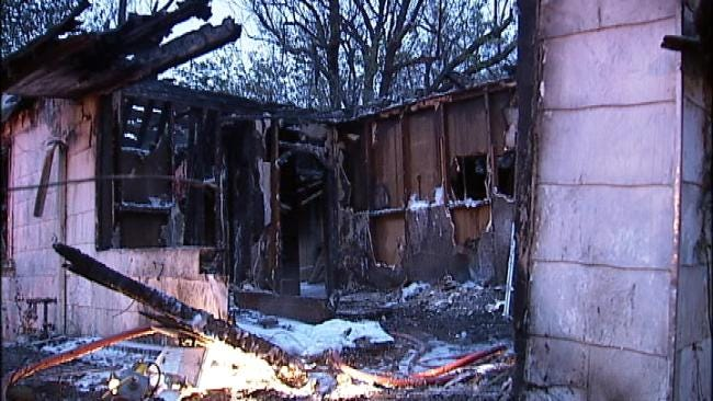 Arson Blamed For Two Building Fires In Turley