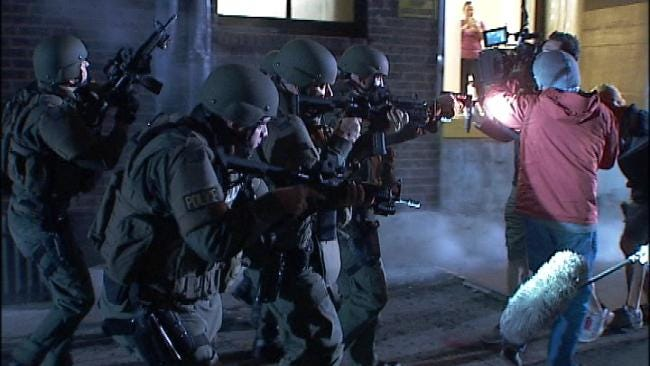 Tulsa Police Special Operations Team Featured In Video Shoot