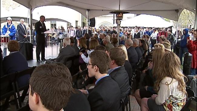University Of Tulsa Celebrates Opening Of New Petroleum Engineering Building