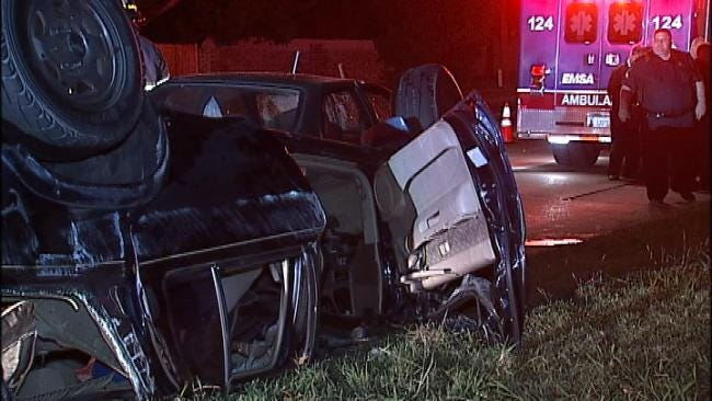 Alcohol-Related Rollover Crash Lands Man In Tulsa County Jail