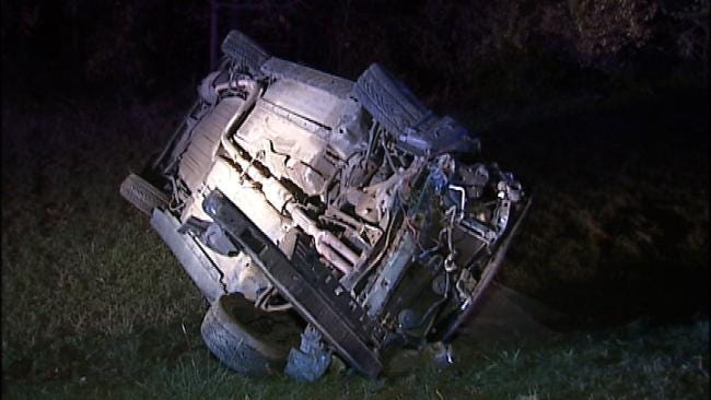 Tulsa Police Say Alcohol May Be A Factor In Rollover Wrecks