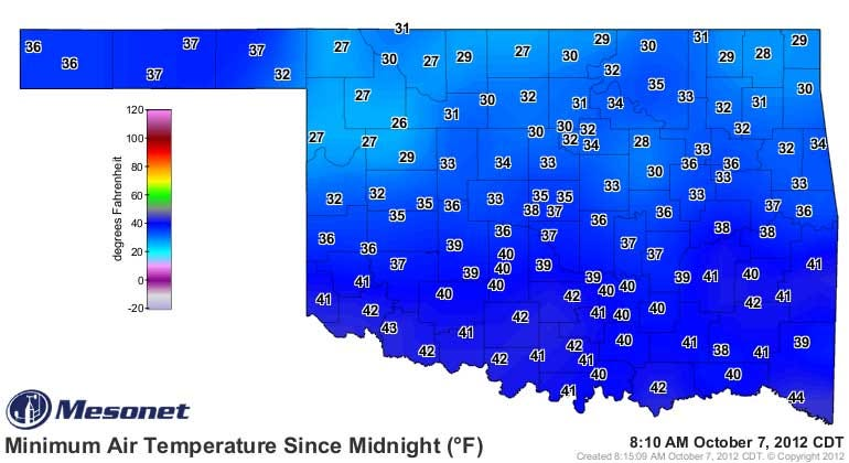 Tulsa Sets New Record For Early Freeze