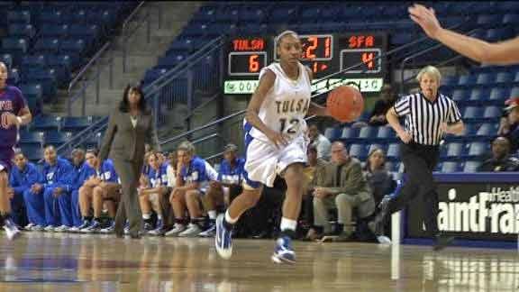 TU's Taleya Mayberry Named To C-USA Women's Basketball Preseason Team