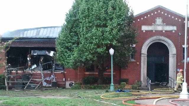 Tulsa Firefighters Recovering After Barnard School Fire, Explosions