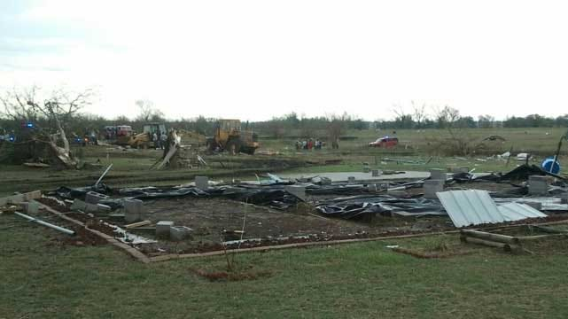 Funeral Held For Nowata County Storm Victims