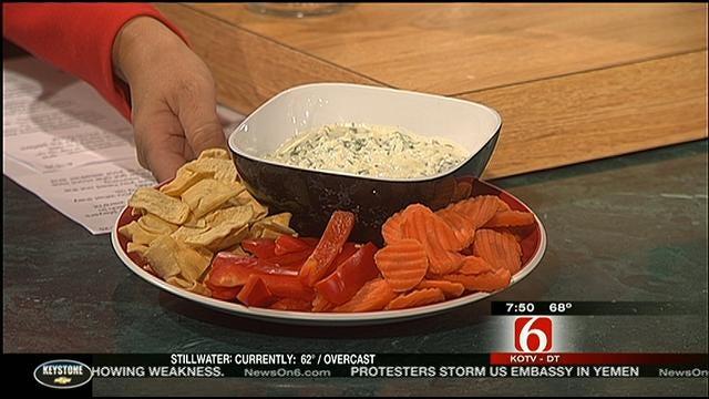 Creamy Feta-Spinach Dip