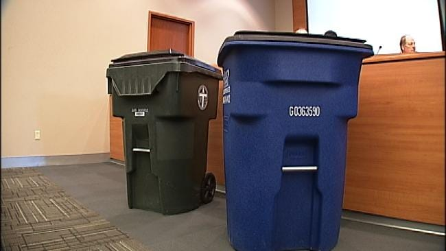 Delivery Of New Trash Carts To Tulsa Residents One Week Behind Schedule