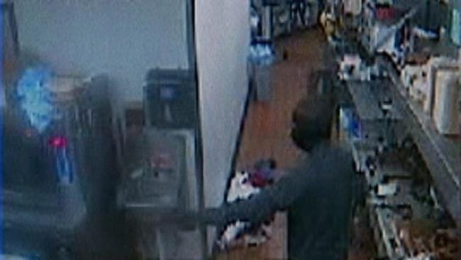 Police Look For Clues In Braums Robbery Surveillance Footage