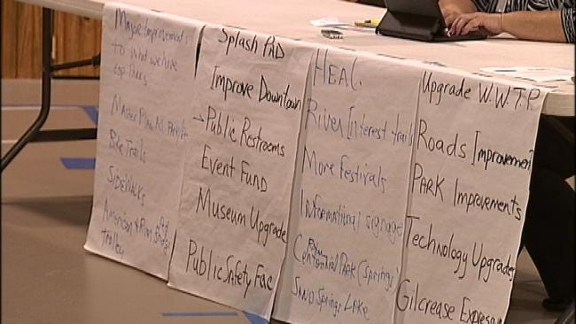 Tulsa City Councilors Discuss Ideas For Vision2 Funds