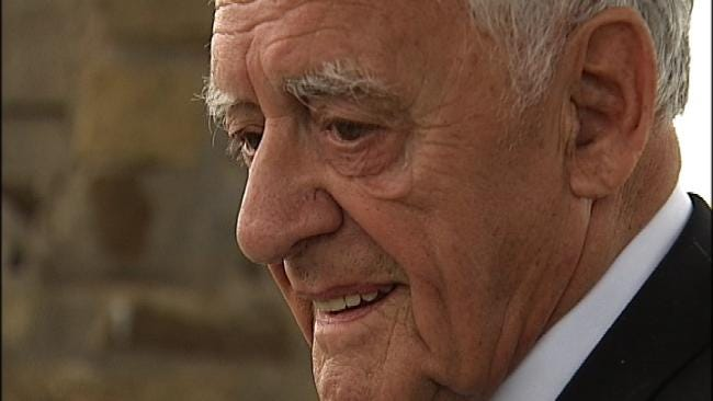 90-Year-Old Former German POW Returns To Camp Gruber