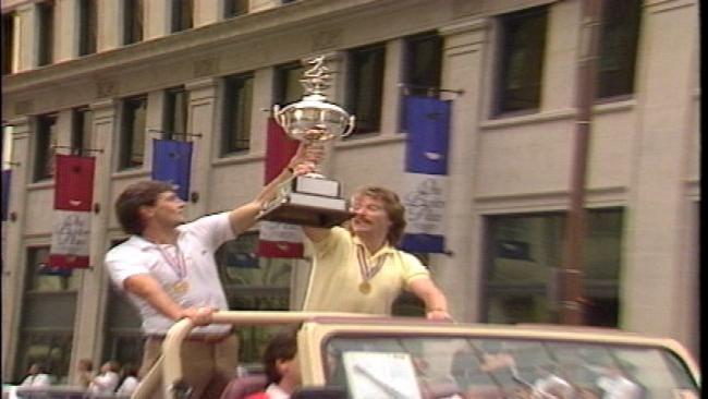 From The KOTV Vault: Tulsa Roughnecks Welcomed Home After Winning 1983 Soccer Bowl