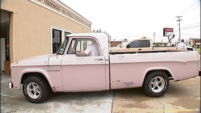 Tulsa Visual Effects Artist Works Movie Magic On Old Truck