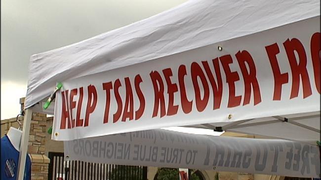 Golden Hurricane Football Fans Help In Wake Of Tragedies