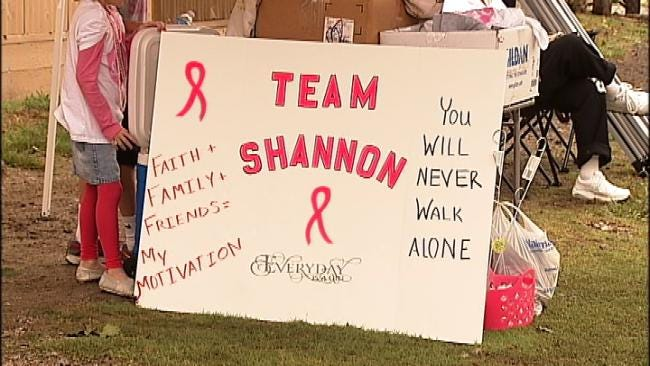 Oklahoma Breast Cancer Patient Fights For Healthy Future