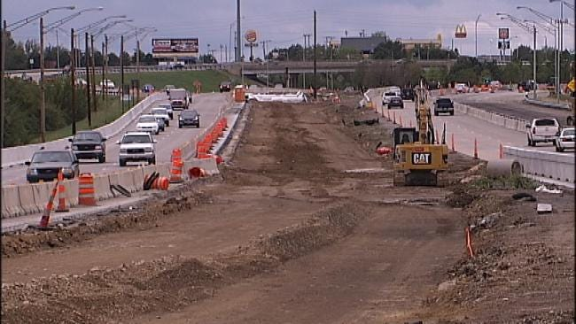 Resurfacing Of I-244 To Cause Major Delays In Tulsa This Week