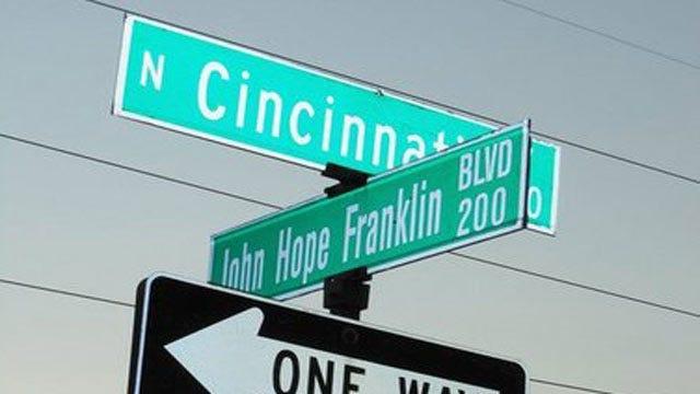 Tulsa's North Cincinnati Avenue Renamed Martin Luther King Jr. Boulevard