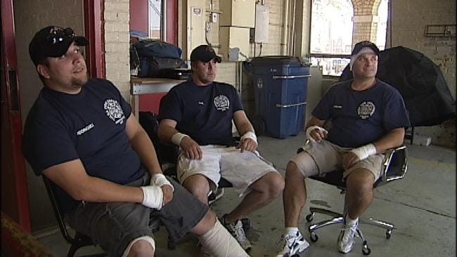 Three Firefighters Injured In Tulsa School Explosion Talk About Their Experience