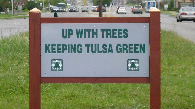 Tulsa's Up With Trees Seeks Sponsorships For City Median Maintenance