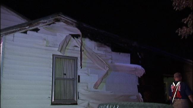 East Tulsa Home's Garage Destroyed By Fire
