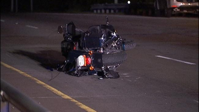Motorcyclist Dies After Crashing On I-44 Exit Ramp In Tulsa