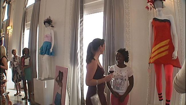 Tulsa Third Graders' Fashions On Display, On Sale Downtown
