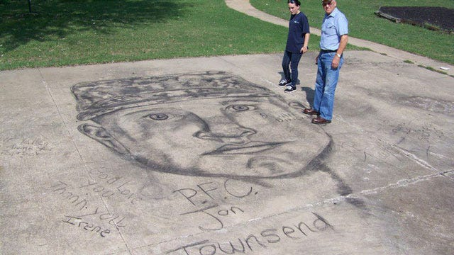 18-Year-Old Oologah Artist Honors Fallen Claremore Soldier