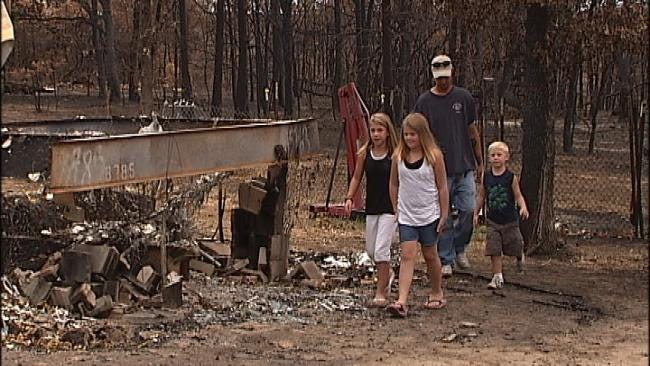 Film Students To Document Wildfire Recovery, Mannford Newspaper Reports