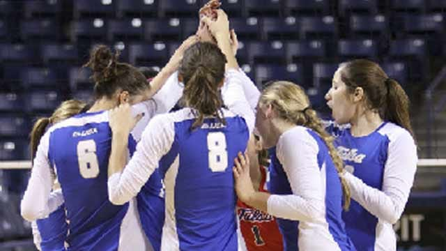 Tulsa Volleyball Blows Out Marshall