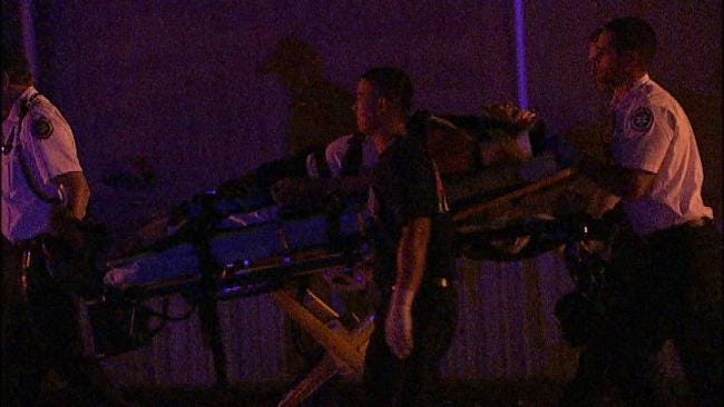 Oakhurst Man Crashes Stolen Mercedes At Tulsa Mobile Home Park