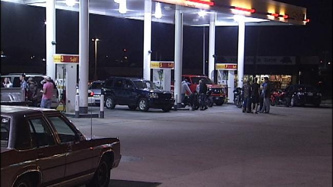 Stabbing Reported At Tulsa Gas Station