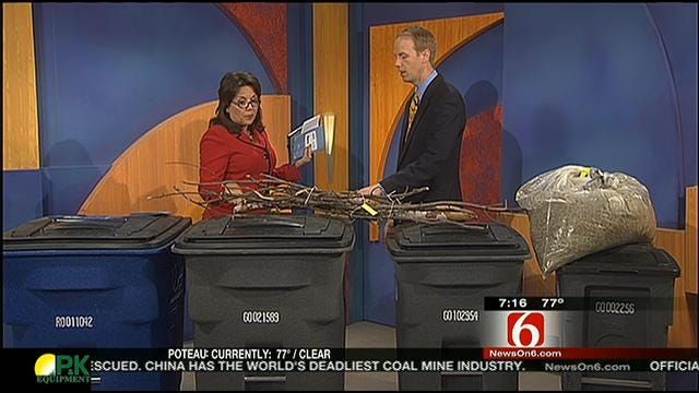 City Of Tulsa Answers New Trash, Recycling Collection Questions On Six In The Morning